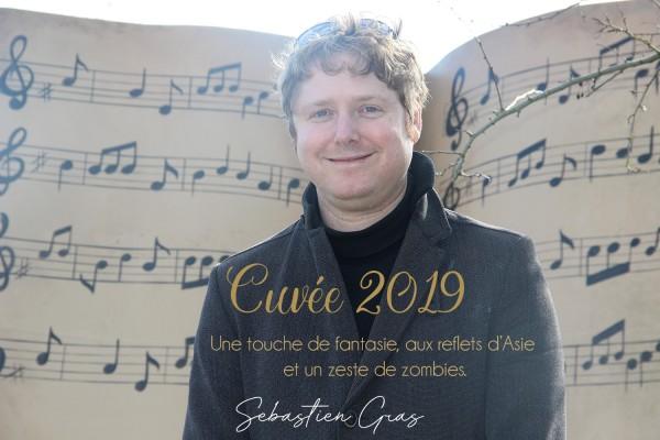 Album Sébastien Gras Cuvée 2019